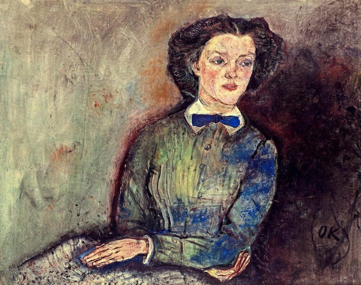 Kokoschka Bessie Bruce 1910